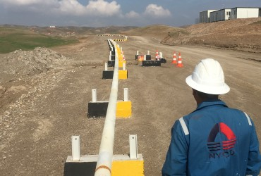 "Full construction, test and Thermal Insulation for 6"" Pipeline in Benenan field in Erbil/Iraq with DNO Company"